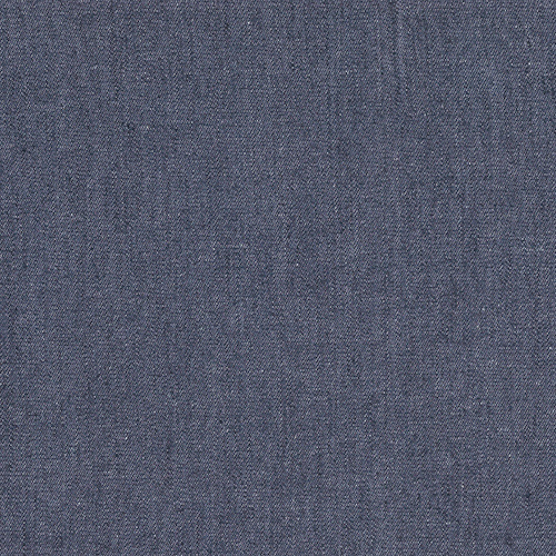 Springfield Dark Blue Solid Denim Fabric