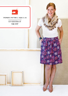 Everyday Skirt - Liesl + Co Pattern