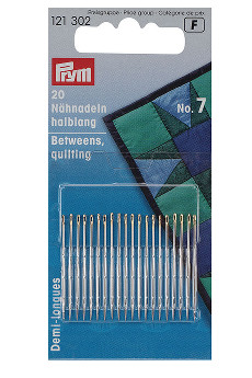 Prym Hand Sewing Needles Betweens 7 With Gold Eye 20pcs