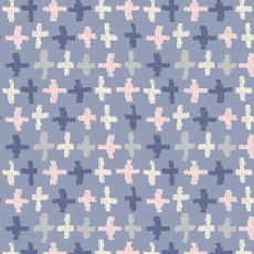 Wonderful Things Joy Crossroads Azure - Art Gallery Fabric Per Metre