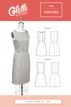 Phoebe Dress Pattern - Colette Patterns