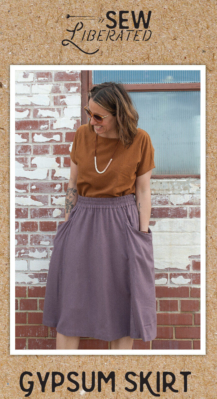 Gypsum Skirt Sewing Pattern - Sew Liberated