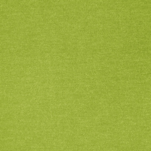 Milano Lime Heathered Viscose Jersey Fabric