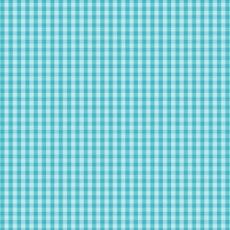 Checks Please Small Plaids Turquoise - Cloud 9 Yarn Dyed Broadcloth Fabric 44in/45in Per Metre
