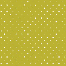 We Are All Stars Oasis Citron - Cloud 9 Quilters Weight Fabric 44in/45in Per Metre