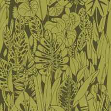 Birds Eye View Foliage Green - Cloud 9 Quilters Weight Fabric 44in/45in Per Metre
