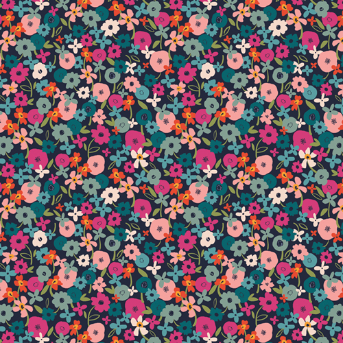 Posy Blaze in Rayon from Trouvaille designed by AGF Studio
