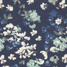 Painterly Wash Denim Print - Art Gallery Fabric 58in/59in Per Metre, 100% Cotton, 4.5 Oz/sqm