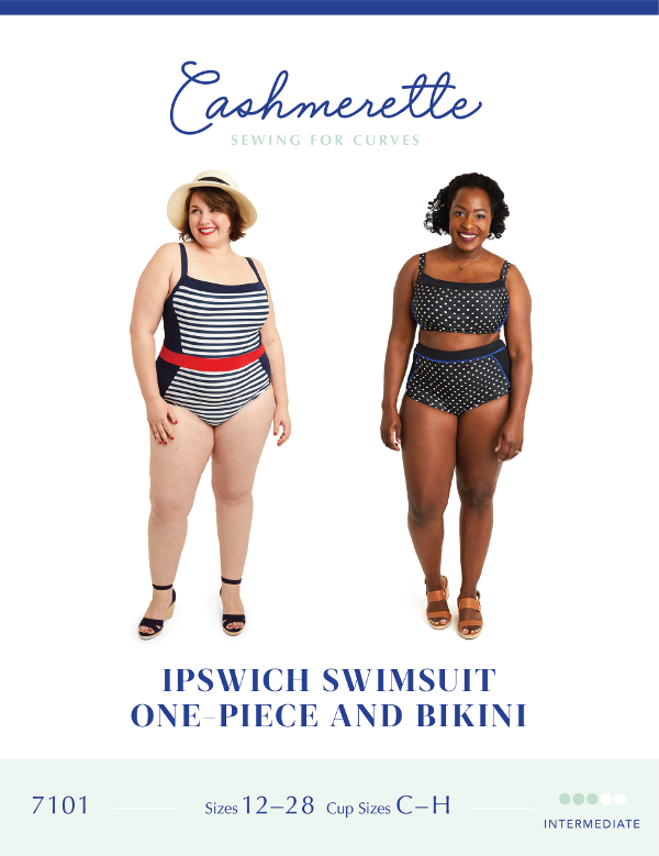Ipswich Swimsuit - Cashmerette Patterns