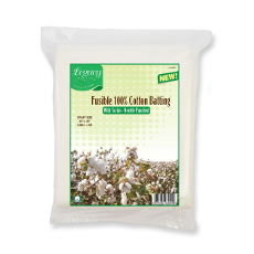 Legacy Needle Punched Fusible Cotton Batting - Craft 34 X 45 In
