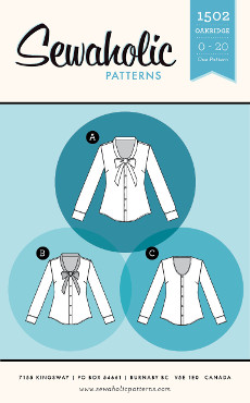 Oakridge Blouse Pattern - Sewaholic Patterns