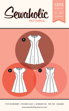 Davie Dress Pattern - Sewaholic Patterns