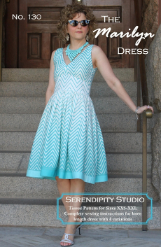 The Marilyn Dress Pattern - Serendipity Studio
