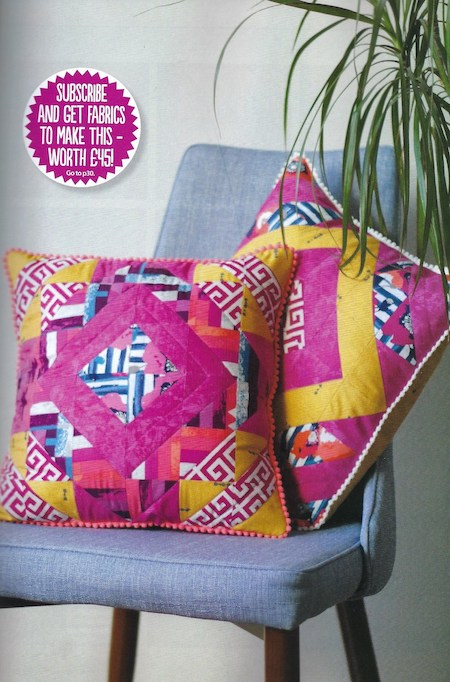 Simply Sewing Issue 55 - Diamond Brights