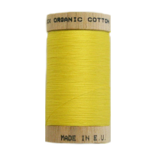 Scanfil Organic Thread 100 Metre Spool - Yellow