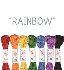Rainbow - Sublime Floss Selection Pack - 7pcs