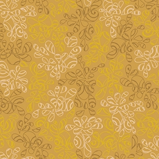 Antique Gold Nature Elements - Art Gallery Fabric 44in/45in Per Metre