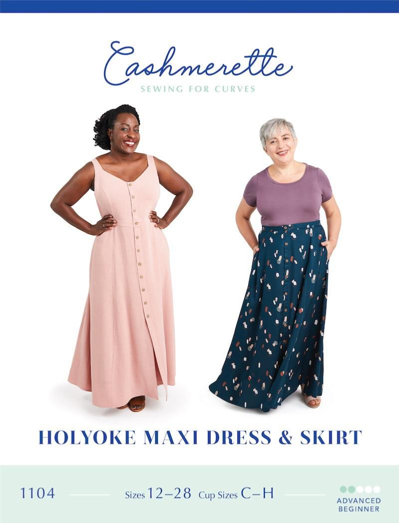 Holyoke Maxi Dress And Skirt Pattern By Cashmerette