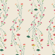 Garden Dreamer Climbing Posies Pale - Art Gallery Fabric 44in/45in Per Metre