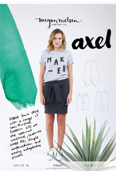 Axel Skirt Pattern - Megan Nielsen Patterns