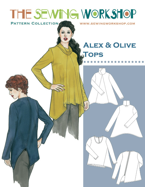 Alex Olive Tops Pattern Sewing Workshop Pattern Wholesale By