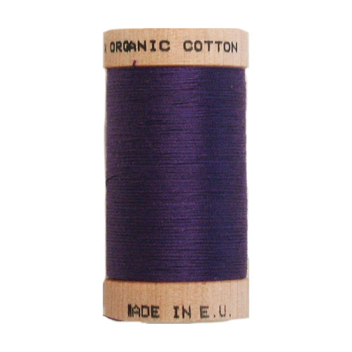 Scanfil Organic Thread 100 Metre Spool - Purple