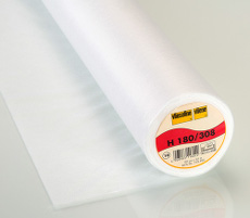 Vlieseline Easy Fuse Ultralight Iron-On Interfacing 90cm X 25 Metre - White