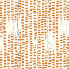 Birds Eye View Tapestried Orange - Cloud 9 Quilters Weight Fabric 44in/45in Per Metre