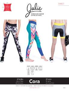 Cora Running Tights And Shorts Pattern - Jalie Patterns
