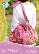Capri Bag CD/pattern - Art Gallery Fabrics