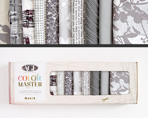 AGF Colormaster Fat Quarter Collectors Set - Clean Slate Edition