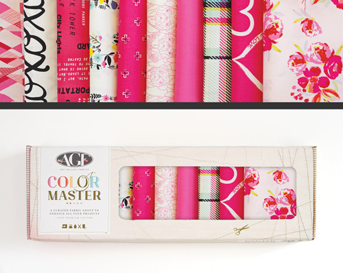 AGF Colormaster Half Yard Collectors Set - Berry Valentine Edition
