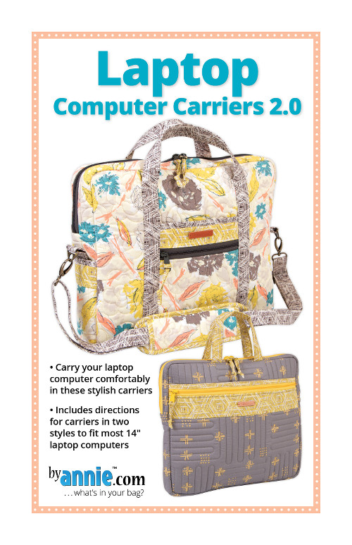 Laptop Computer Carriers Pattern By Annies