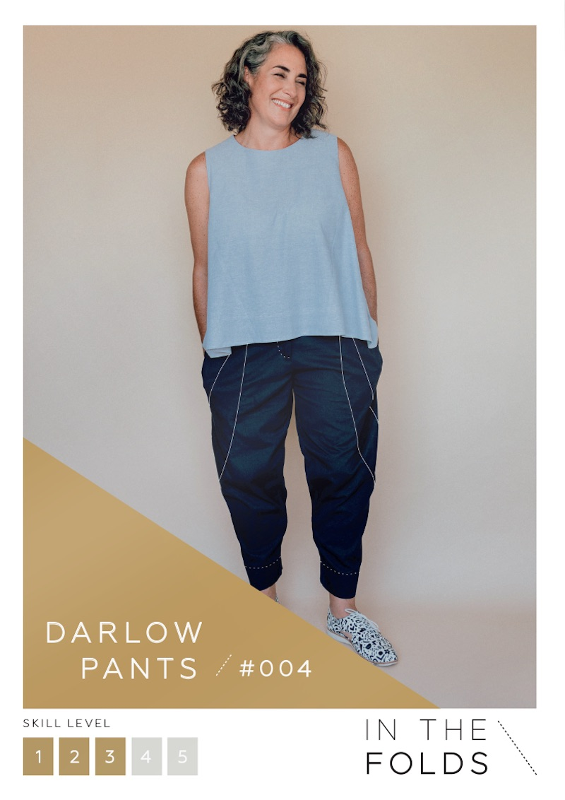 Darlow Pants Pattern By In The Folds
