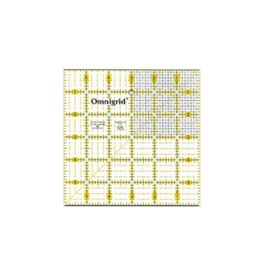 Omnigrid Square - 6in X 6in With Grid