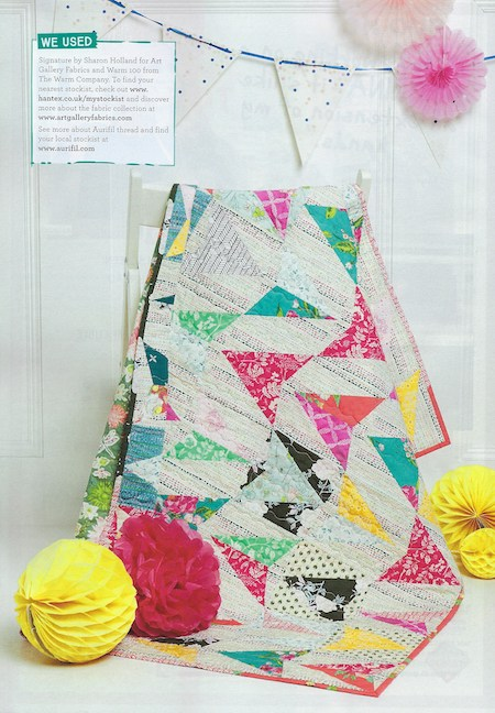 Quilt Now Issue 62 - Any Which Way Quilt