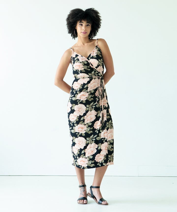 Calvin Wrap Dress and Top Pattern by True Bias