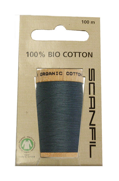 Scanfil Organic Thread 100 Metre Hang-sell - Teal