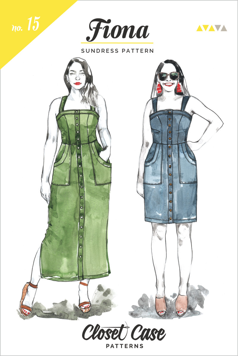 Fiona Sundress Pattern By Closet Case Files