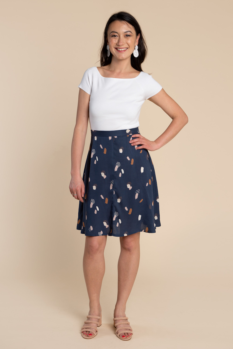 Fiore Skirt Pattern by Closet Case Files
