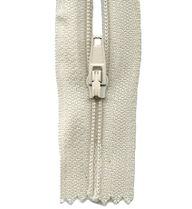 Make A Zipper Standard - 197in Long With 12 Zipper Pulls - Beige