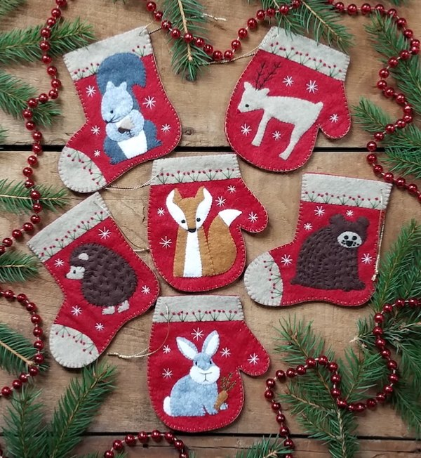 Christmas Critters Ornament Kit (6)