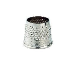 Prym Open Tailors Thimble Steel 18mm
