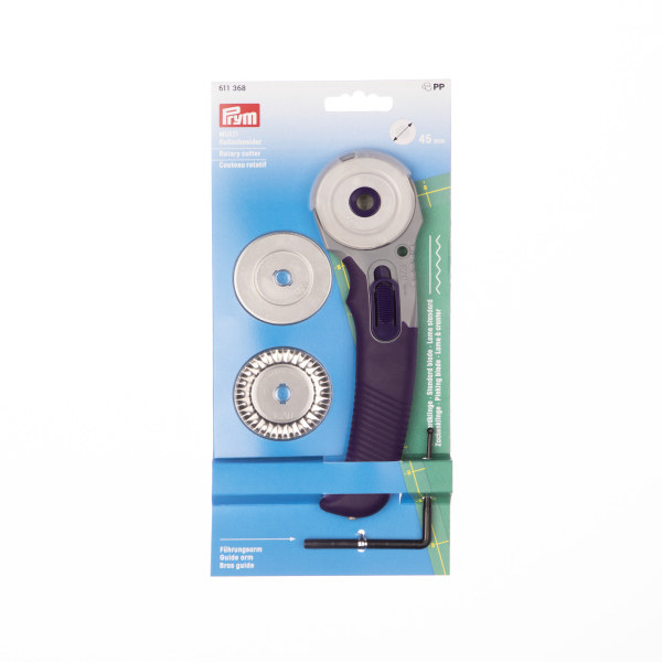 Prym Wave Blade For Multi-Purpose Rotary Cutter + 3 Blades