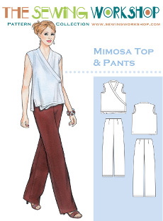Mimosa Top & Pants Pattern - Sewing Workshop Pattern