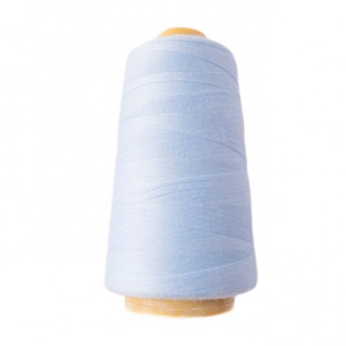 Hantex Overlocker Thread - Light Blue - 100% Polyester 3000 Yrds (2700+m)