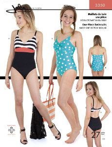 One Piece Swimsuits Pattern - Jalie Patterns