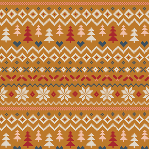 Warm & Cozy Caramel from Cozy and Magical by Maureen Cracknell in Cotton for AGF