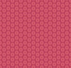 Oval Elements Cranberry - Art Gallery Fabric 44in/45in Per Metre