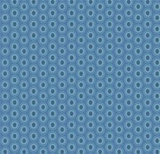 Oval Elements Sapphire - Art Gallery Fabric 44in/45in Per Metre
